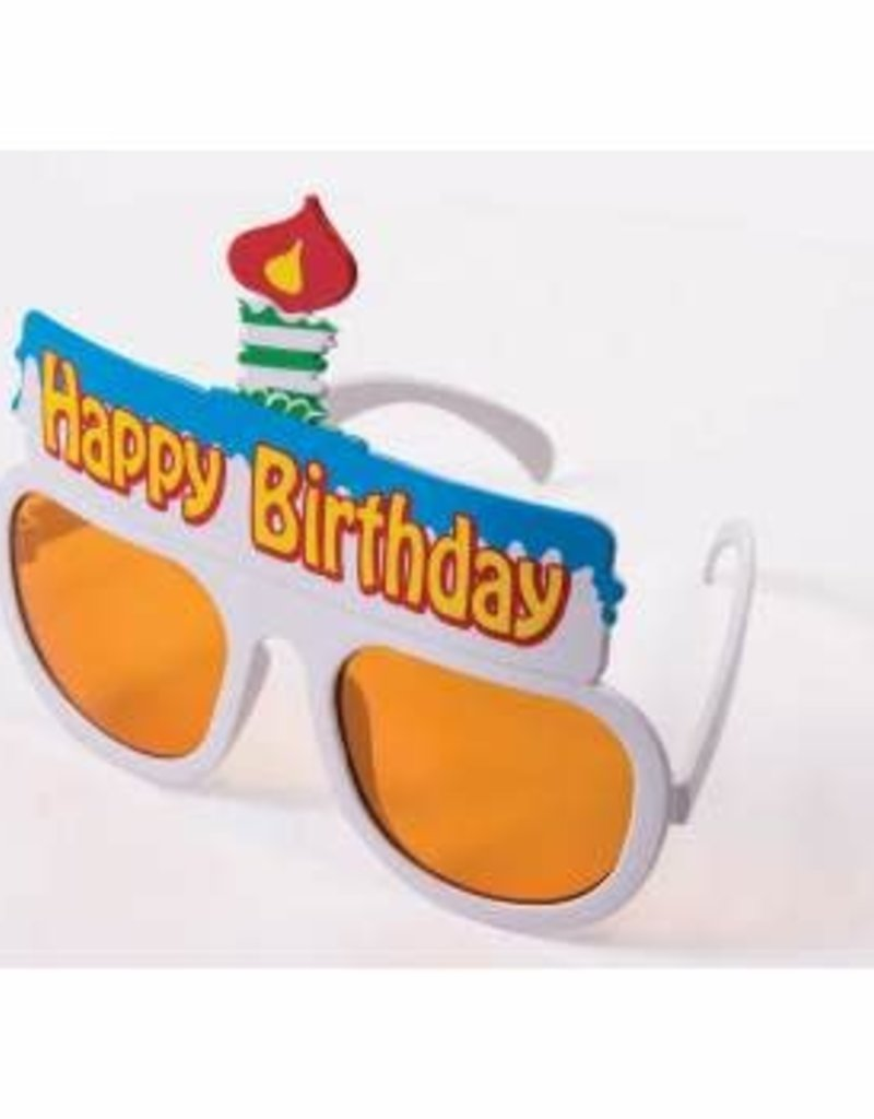 Birthday Cake Glasses