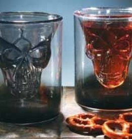 Fun World Floating Skull Shot Glass