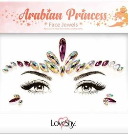 LoveShy Face Jewels - Arabian Princess