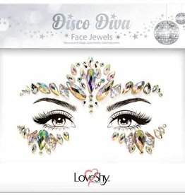 LoveShy Face Jewels - Disco Diva