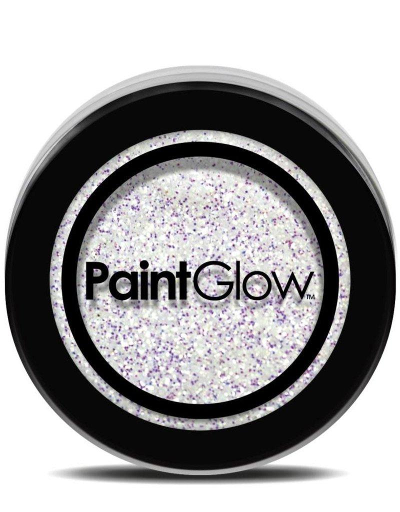 PaintGlow Glitter Shaker - White