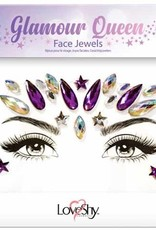 LoveShy Face Jewels - Glamour Queen