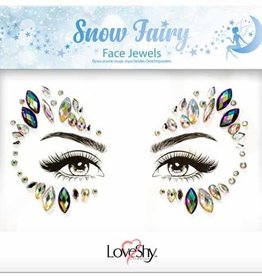 LoveShy Face Jewels - Snow Fairy