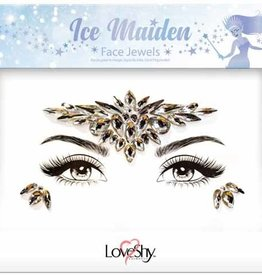 LoveShy Face Jewels - Ice Maiden