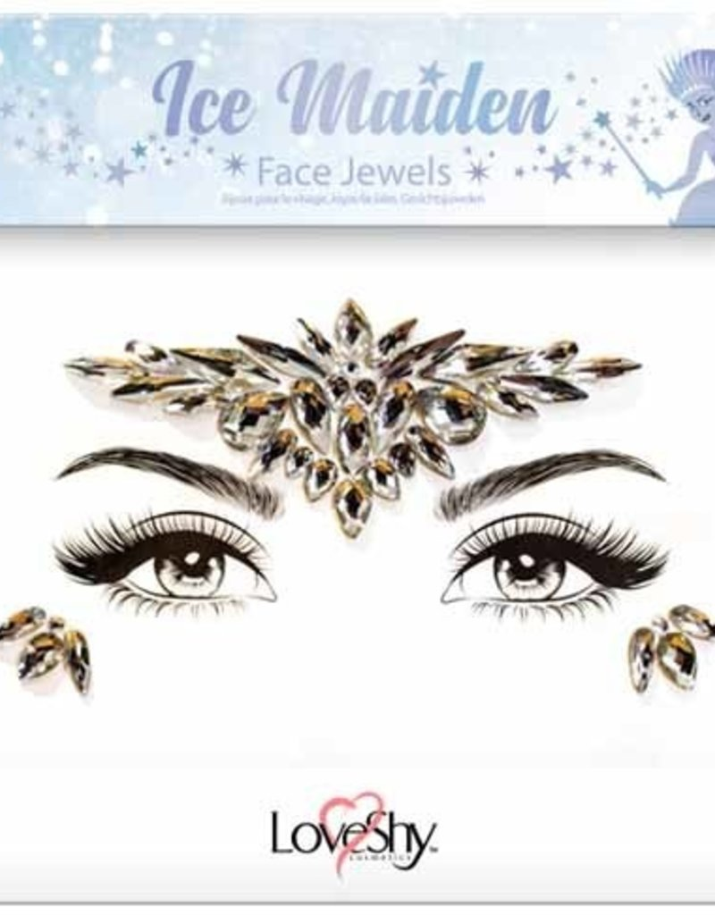 LoveShy Face Jewels - Ice Maiden
