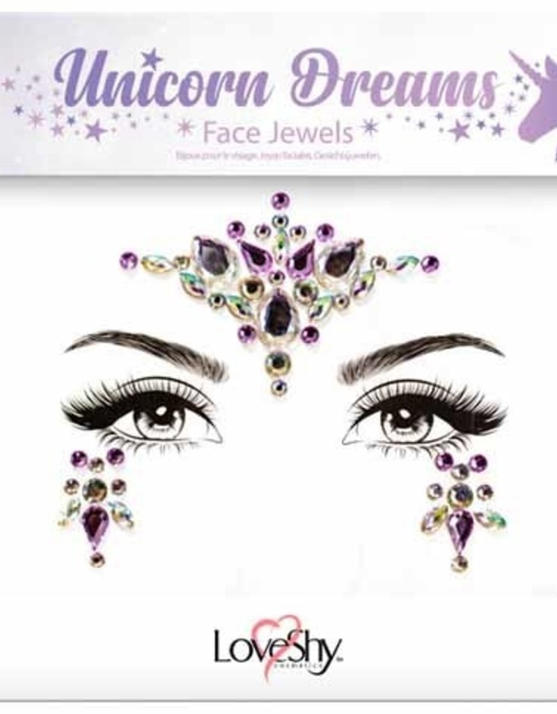 LoveShy Face Jewels - Unicorn Dreams