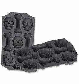 Beistle Skull & Bones Ice Mold