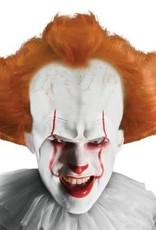 Adult Pennywise Wig with Attached Headpiece