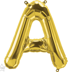 "16"" Air-Fill Letter A - Gold"