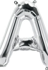 """16"""" Air-Fill Letter A - Silver"""