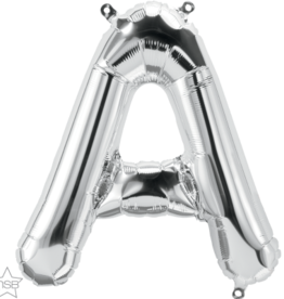 "16"" Air-Fill Letter A - Silver"