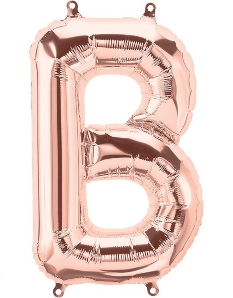 "16"" Air-Fill Letter B - Rose Gold"