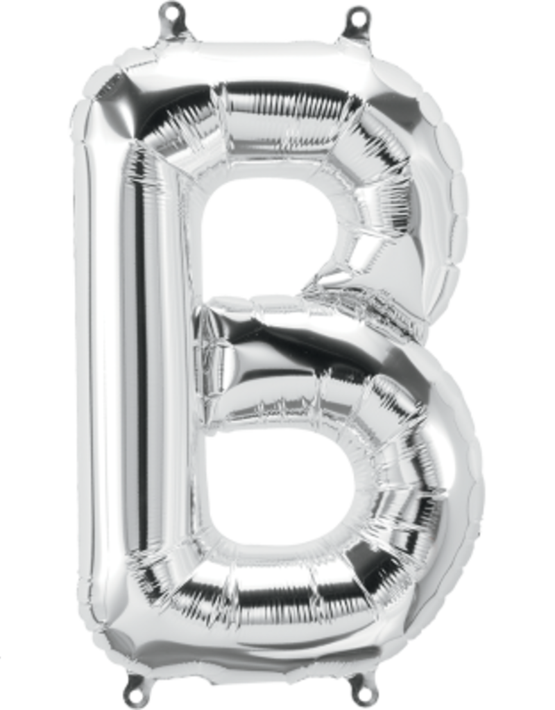 "16"" Air-Fill Letter B - Silver"