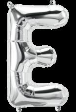 """16"""" Air-Fill Letter E - Silver"""