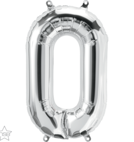"""16"""" Air-Fill Letter O - Silver"""
