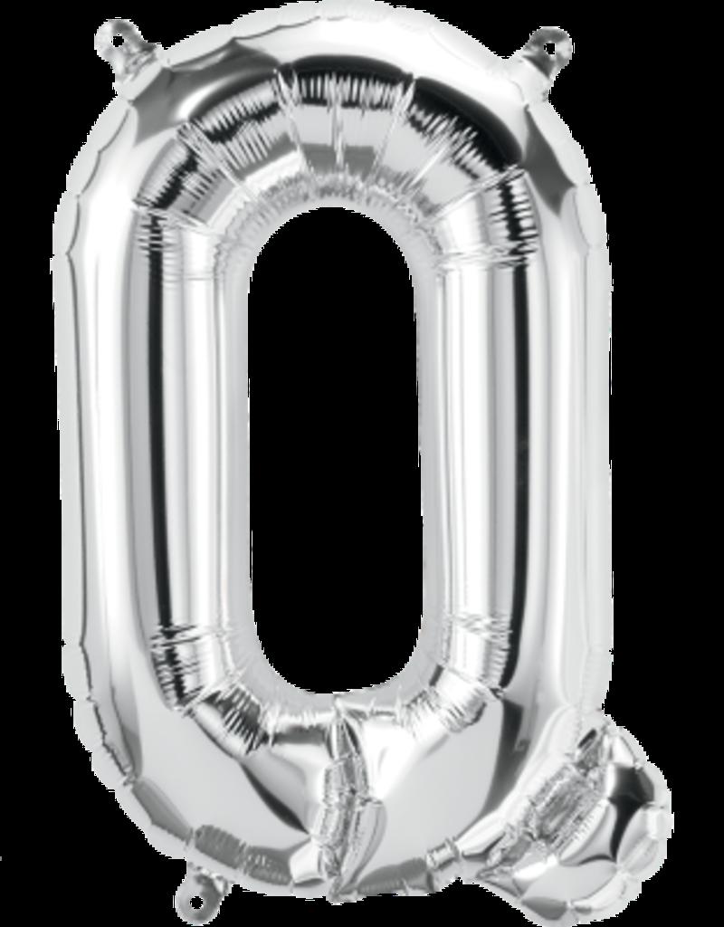 "16"" Air-Fill Letter Q - Silver"