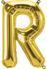 "16"" Air-Fill Letter R - Gold"