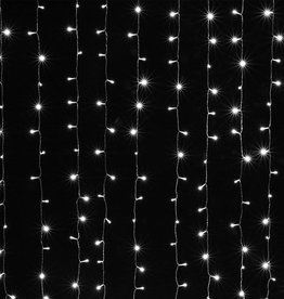 9.8'x6.6' Standard White String Light Curtain Backdrop