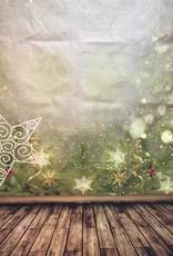7'x5' Christmas Stars Backdrop