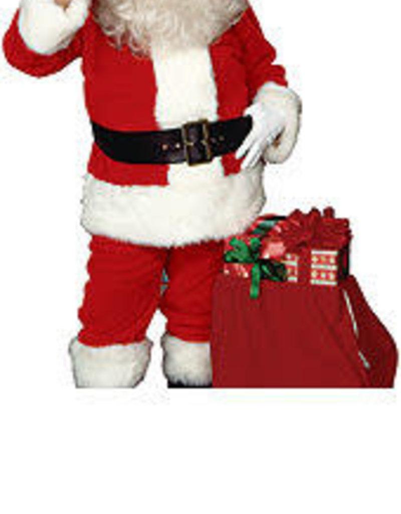 Rubies Costumes Imperial Plush Adult Santa Suit with Faux Fur Trim  - XL