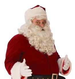 Rubies Costumes Adult Premium Santa Beard and Wig Set