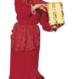 Ruffled Mrs. Claus Dress - Standard
