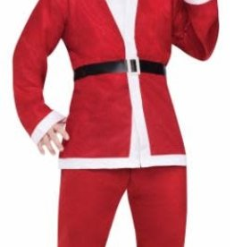 SKS PUB CRAWL SANTA SUIT RED SIZE 6' 200LBS