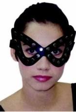 SKS Studded Masquerade Mask - Black