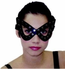 SKS Studded Masquerade Mask - Black