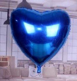 """36"""" Blue Heart"""