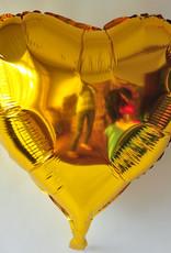 """36"""" Gold Heart"""