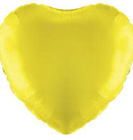 "Qualatex 18"" Yellow Heart"
