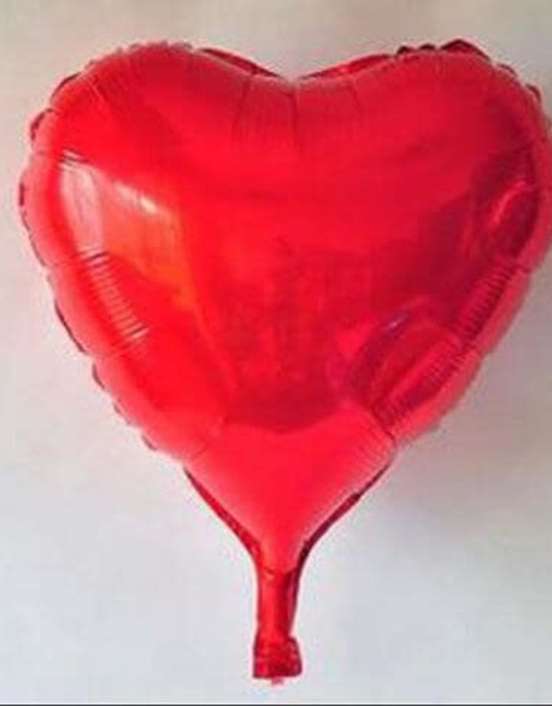 "Qualatex 18"" Red Heart"