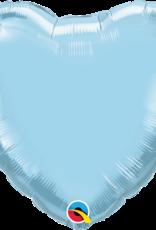 """Qualatex 18"""" Light Blue Heart"""