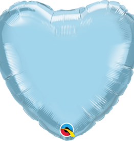 "Qualatex 18"" Light Blue Heart"