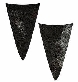 Strapless Bikini Merkins: Black Mini