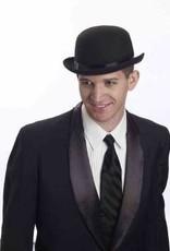 Deluxe Bowler Hat - Black