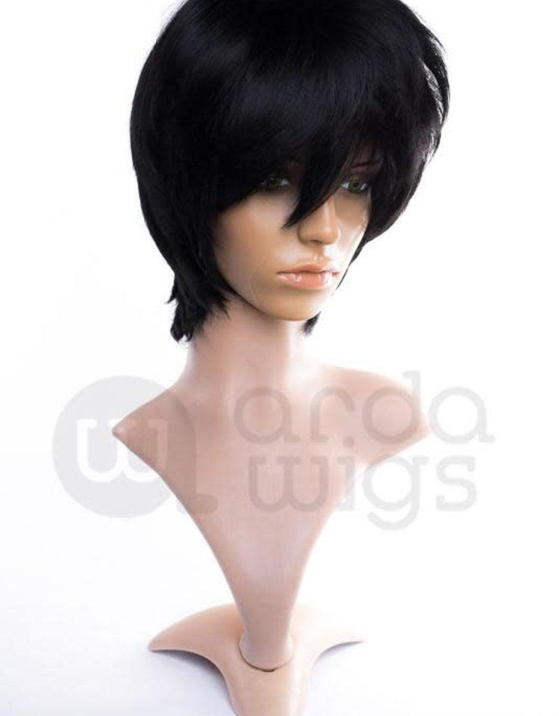 Arda Wigs Caine Classic - Black