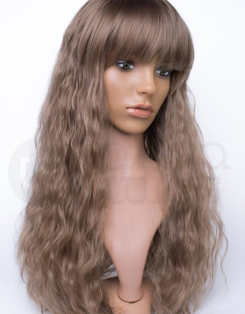 Brown Wigs 66 Long Creature Wig