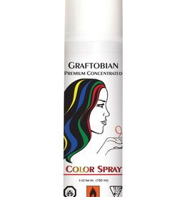 Graftobian Grey Hairspray - 12oz