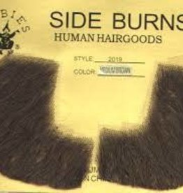 Rubies Costumes Human Hair Sideburns - Light Brown