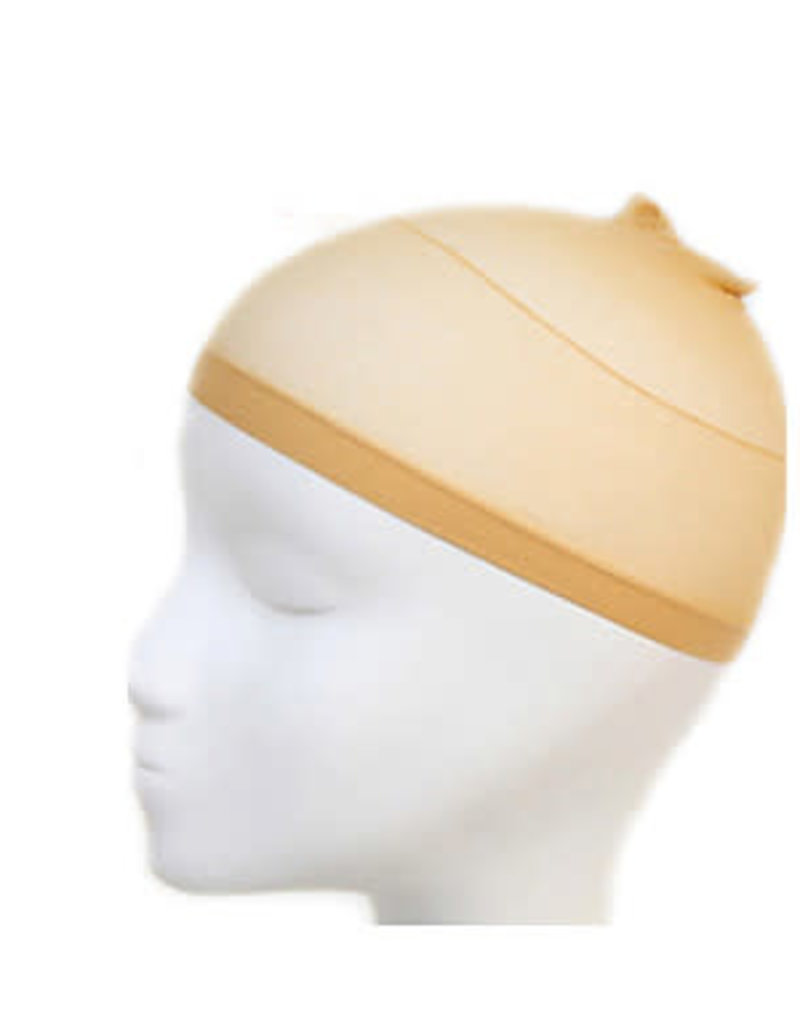 Wig Cap Mesh  - Light Brown 2pc