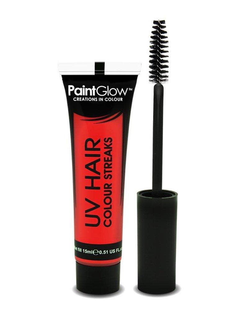 Neon UV Hair Streaks - 15ml Orange