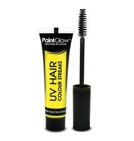 Neon UV Hair Streaks - 15ml Yellow