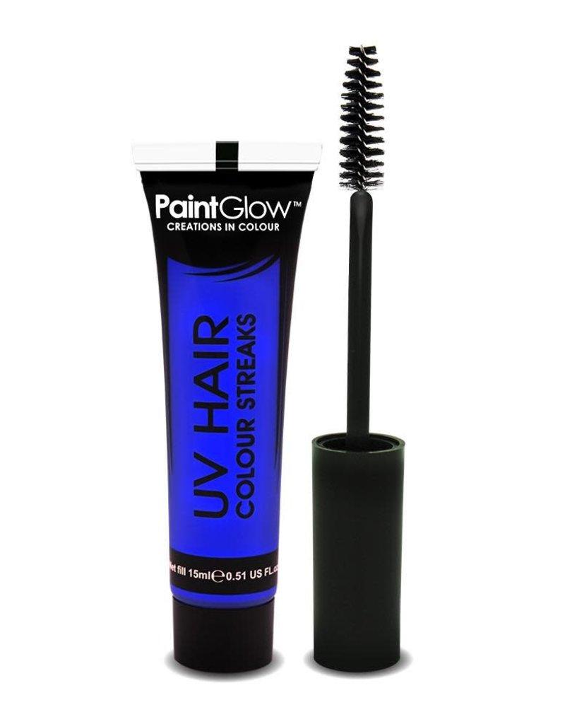 Neon UV Hair Streaks - 15ml Blue