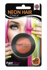 Neon UV Hair Chalk - Orange