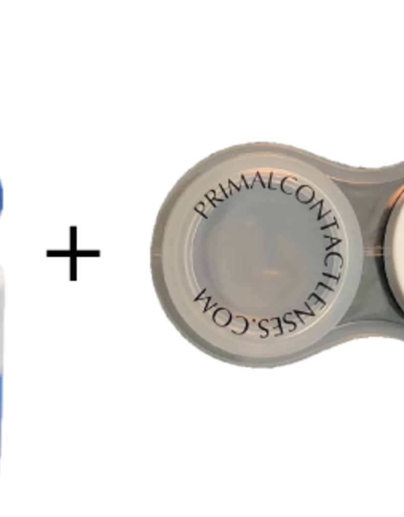 PRIMAL Re-Nu Contact Solution and Case Combo