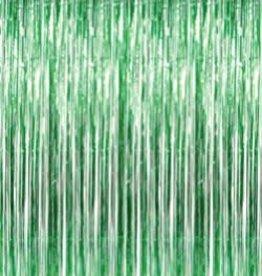 HANGING METALLIC CURTAIN -  GREEN -