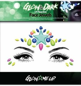 LoveShy Face Jewels - Glow in the Dark