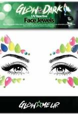 LoveShy Face Jewels - Glow in the Dark Star
